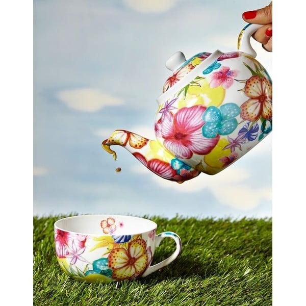Zestaw 2 porcelanowych kubków Blooming