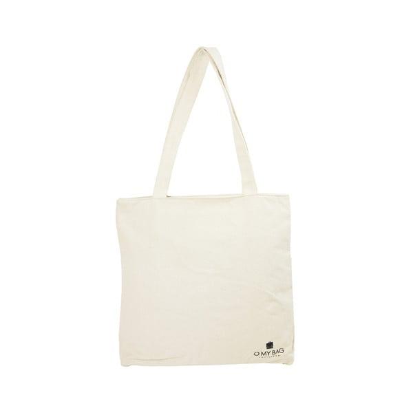 Biała płócienna torba O My Bag Quote