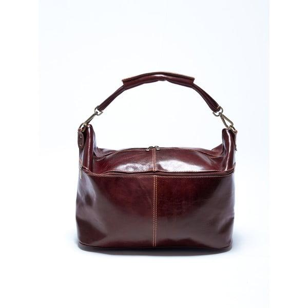 Skórzana torebka Roberta M. 314 Marrone
