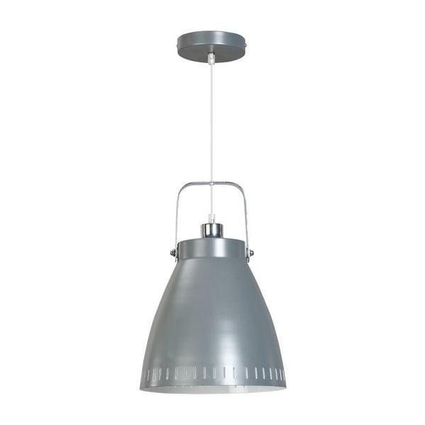 Szara lampa wisząca ETH Acate Industri