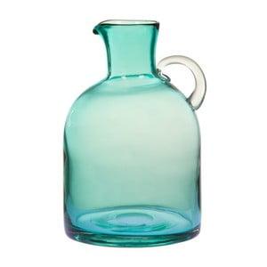Turkusowy wazon szklany Santiago Pons