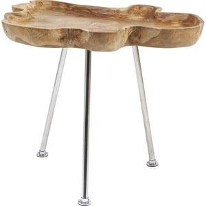 Stolik z drewna teakowego Kare Design Root