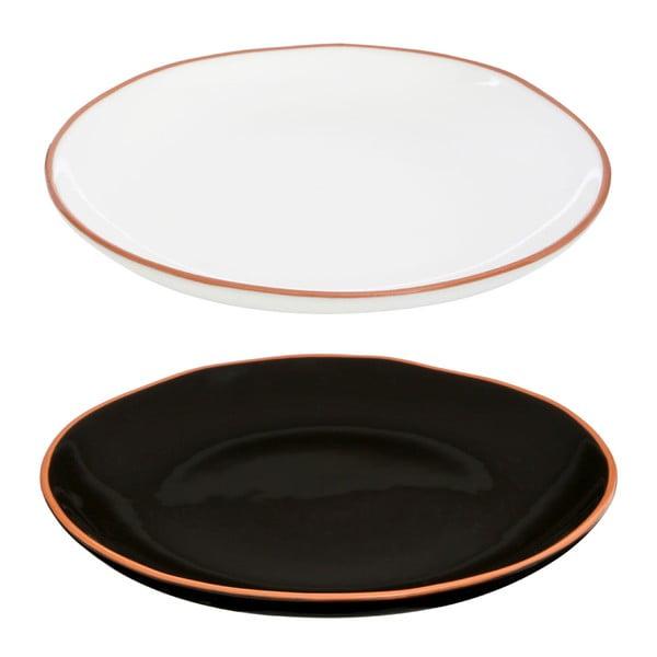Biały talerz z terakoty Premier Housewares, ⌀ 27,5 cm