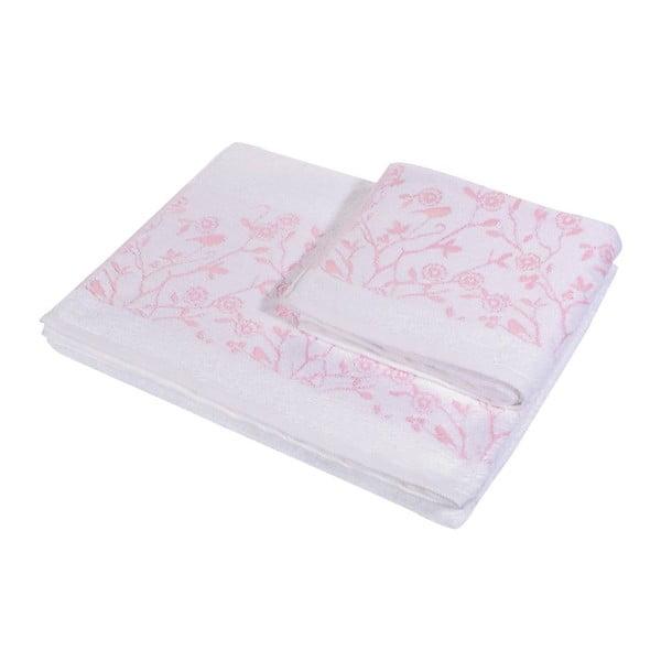 Komplet 2 ręczników Antenne Blanc