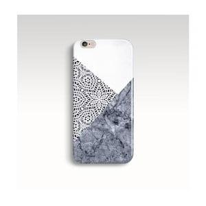 Etui na telefon Marble Mandala Grey na iPhone 6+/6S+