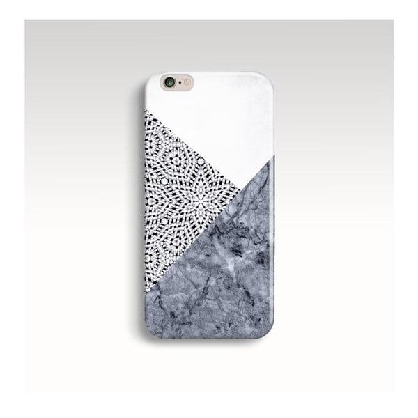 Etui na telefon Marble Mandala Grey na iPhone 6/6S