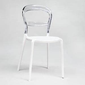 Krzesło Thalassa Transparent/White