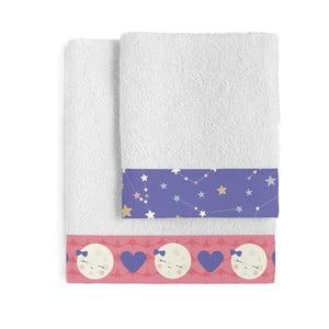 Zestaw 2 ręczników Happynois Moon Dream
