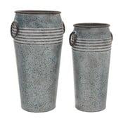 Zestaw 2 wazonów metalowych InArt Ides