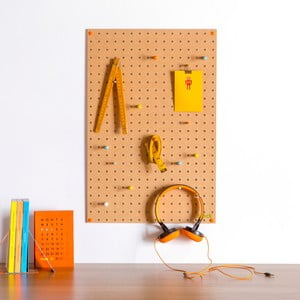 Tablica wielofunkcyjna Pegboard Medium Natural, 61x81 cm