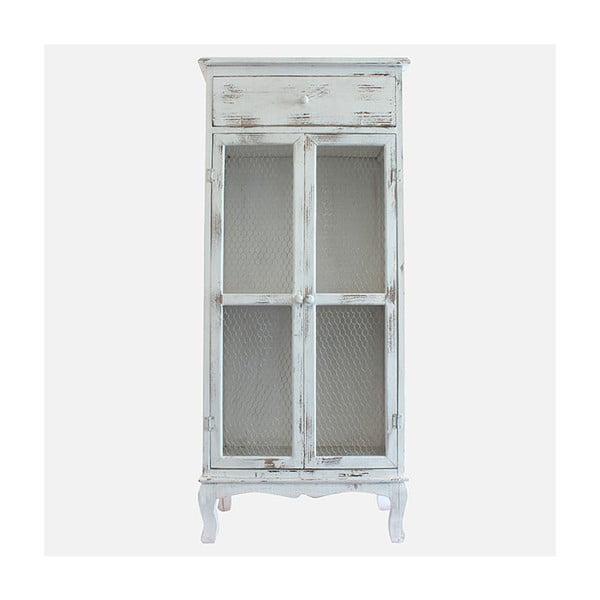 Drewniana szafa Grey Days, 135x60 cm