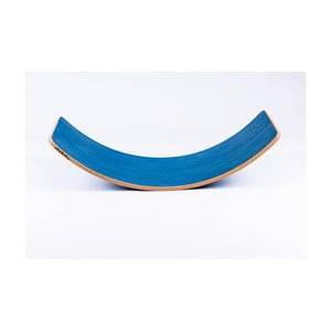 Niebieska deska bukowa do balansowania Utukutu, dł.82cm