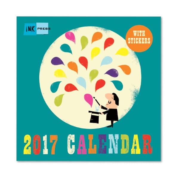 Kalendarz Portico Designs Ink Press SQ