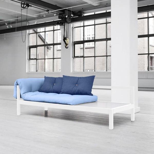 Sofa wielofunkcyjna Karup Soul White/Celeste/Gris