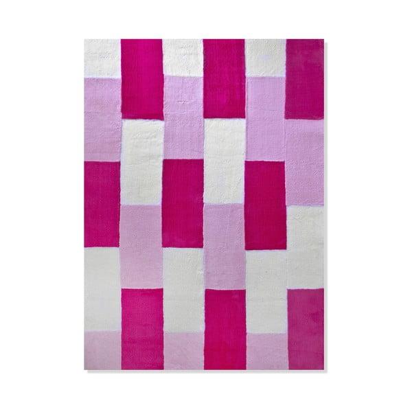 Dywan dziecięcy Mavis Pink Lines, 100x150 cm