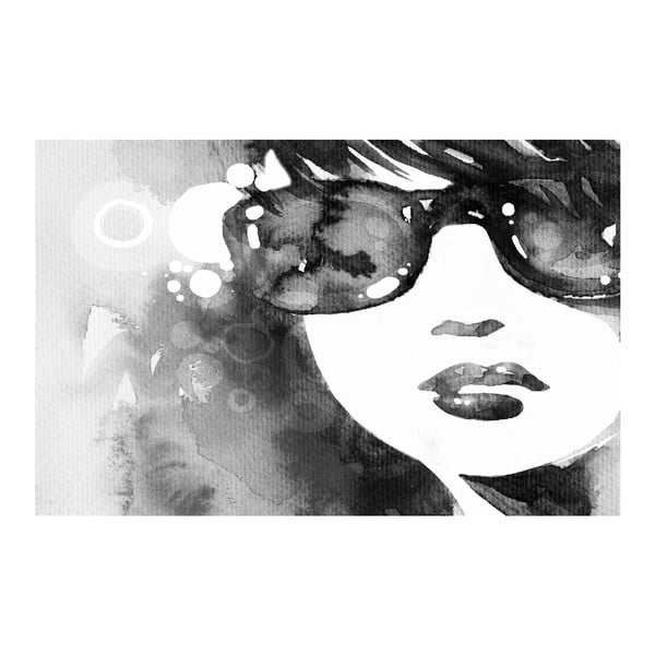 Obraz Black&White Sunglasses, 45x70 cm