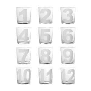 Zestaw   12 szklanek Côté Table Numero