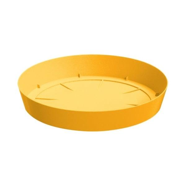 Doniczka z podstawką Colorino 15,8 cm, curry