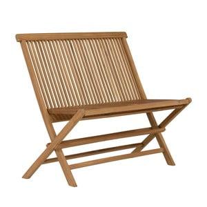 Składana ławka ogrodowa z drewna tekowego SOB Garden