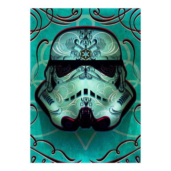 Plakat na blasze Masked Troopers - Inked