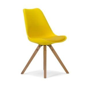 Żółte krzesło SOB Seattle