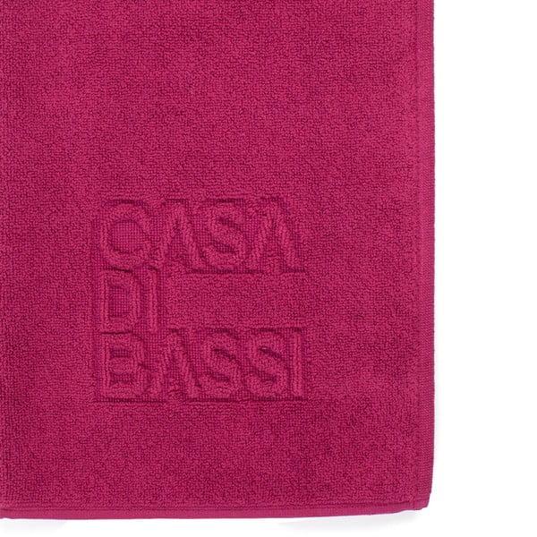 Bordowy dywanik łazienkowy z bawełny Casa Di Bassi Basic, 50x70 cm