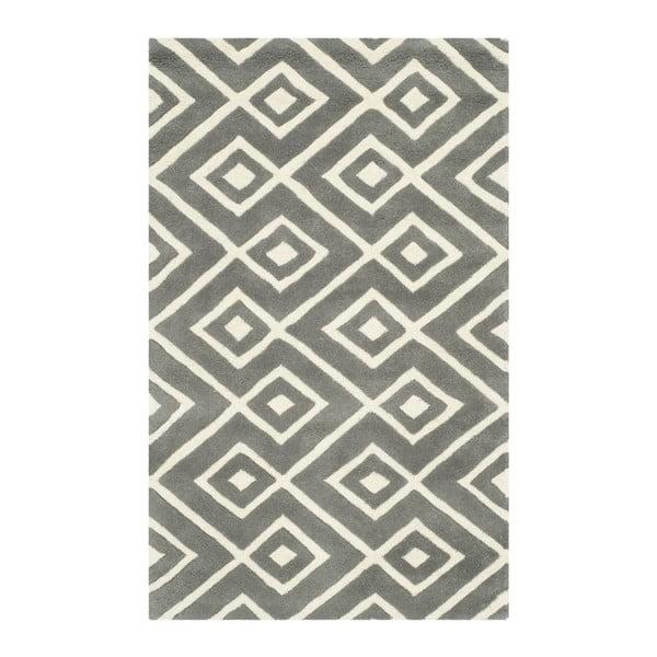 Wełniany dywan Area Rug, 60x91 cm