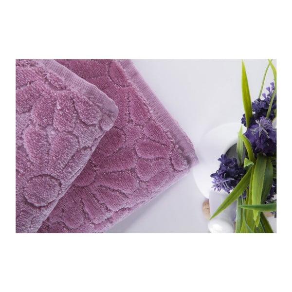 Zestaw 2 ręczników Samba Powder, 70x140 cm i 50x90 cm