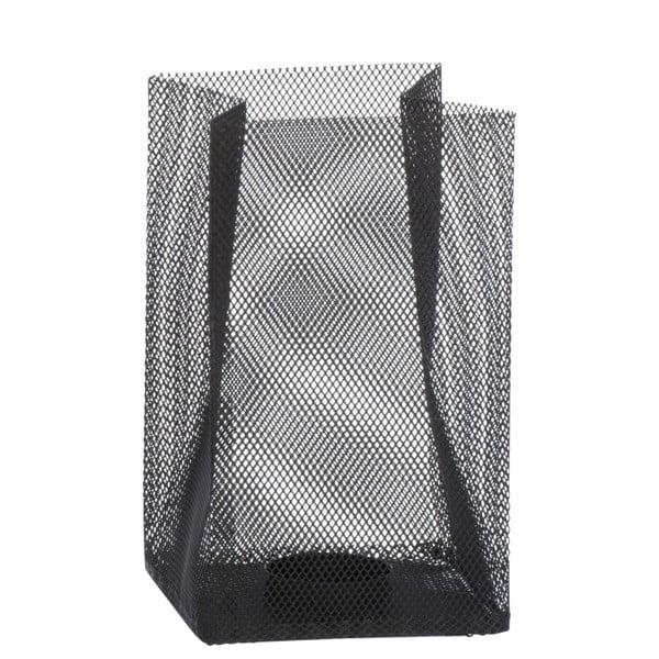Świecznik Metal Black, 11x11x18 cm