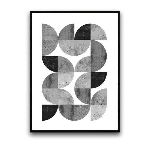 Plakat w drewnianej ramie Locusta, 38x28 cm
