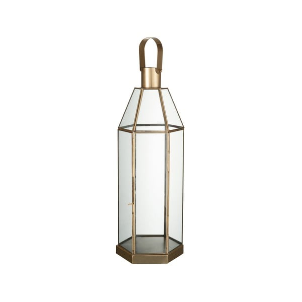 Szklany lampion Hexa, wysokość 57 cm