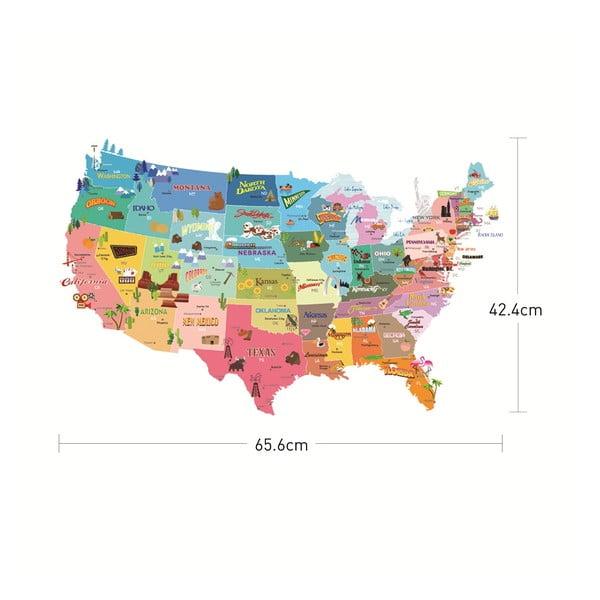Naklejka USA Ambiance, 50 x 70 cm
