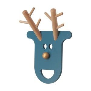 Wieszak O Deer Petrol Blue