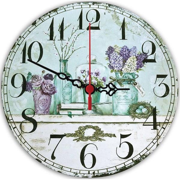 Zegar ścienny Violet, 30 cm