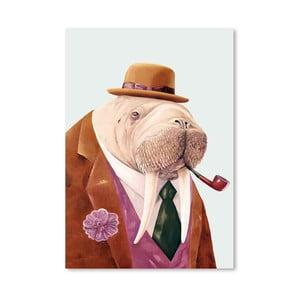 "Plakat ""Walrus"", 30x42 cm"