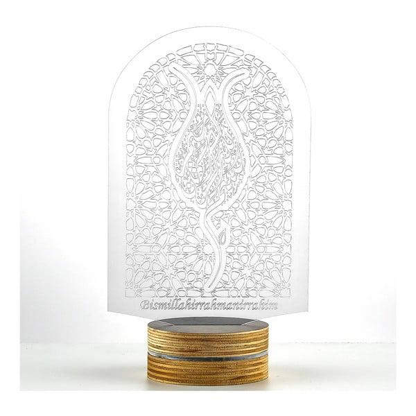 Lampa 3D stołowa Window