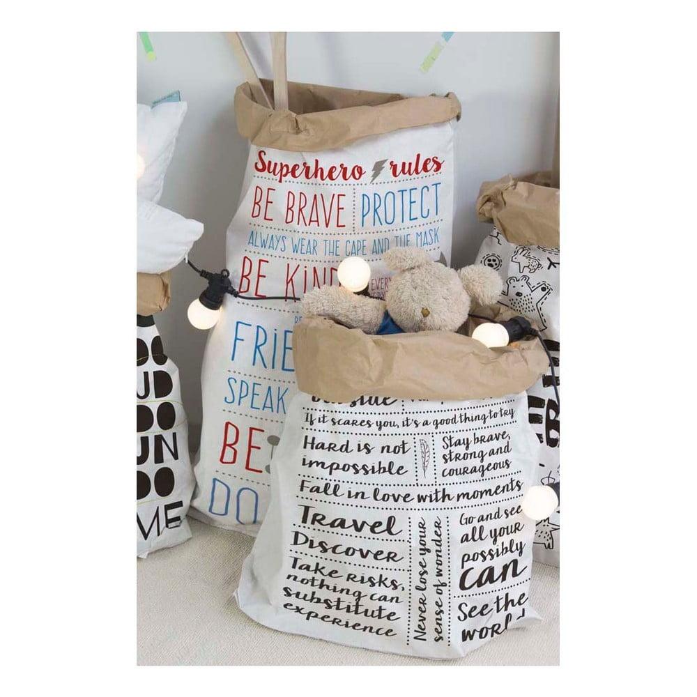 torba papierowa little nice things rules bonami. Black Bedroom Furniture Sets. Home Design Ideas