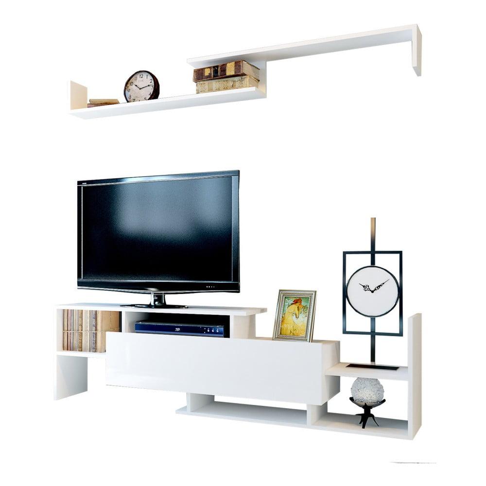 Biała szafka pod TV Dream