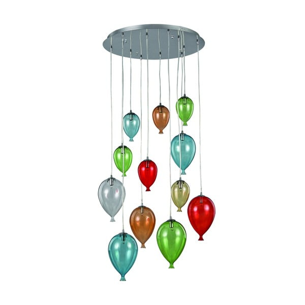 Lampa wisząca Evergreen Lights Balloons in Colors