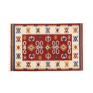 Dywan ręcznie tkany Kilim Dalush 001, 90x60 cm
