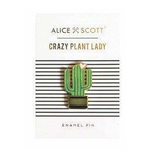 Przypinka w kształcie kaktusa Portico Designs