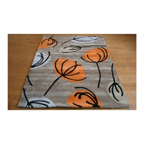 Dywan Fifties Floral Orange, 160x220 cm