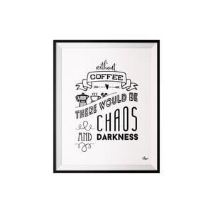 Plakat Coffee, 40x50 cm