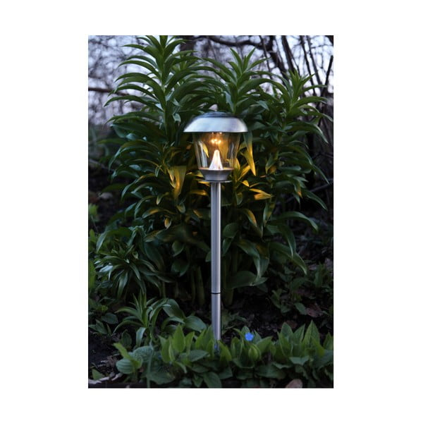 Nierdzewna lampa solarna LED Best Season Pathlight