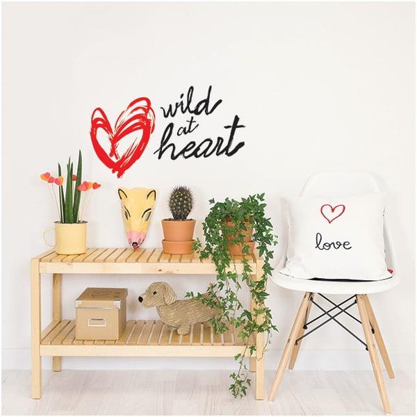 Naklejka dekoracyjna na ścianę Wild at Heart