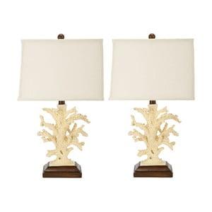 2 lampy stołowe Key West