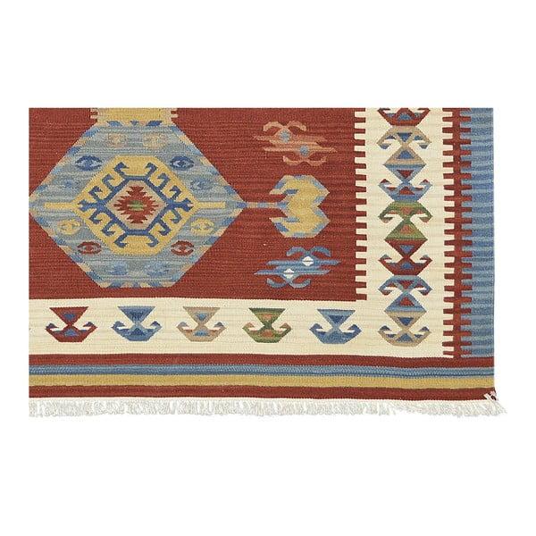 Ręcznie tkany dywan Kilim Classic AK06 Mix, 75x125 cm