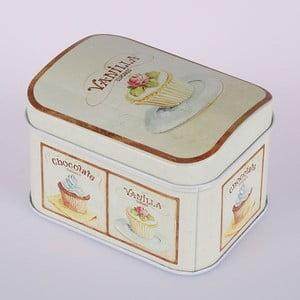 Blaszany pojemnik Vanilla Cupcake