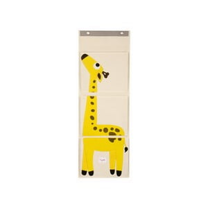 Organizer wiszący na ścianę 3 Sprouts, z żyrafą