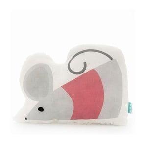 Poduszka bawełniana Mr. Fox Mouse, 40x30 cm